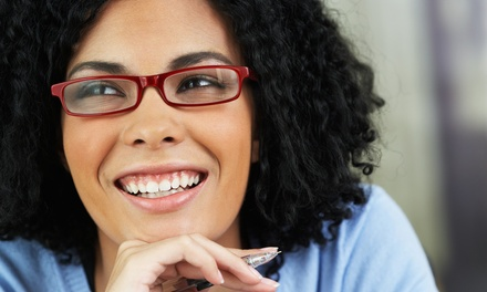 Prescription Eyeglasses with Option for Exam at Pearle Vision (Up to 84% Off)