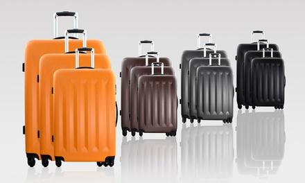 Conjunto de 3 trolleys Bluestar Santos por 109€