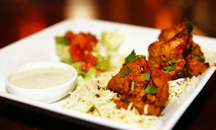 Pakistani Food and Drinks at Tandoori Grill (Half Off). Two Options Available.