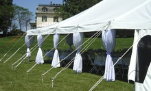 Party-Equipment Rental from Upstate Party Rental. (Up to 66% Off). Two Options Available.