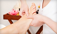 One or Two Facials and Reflexology Treatments or a Facial, Peel, and Reflexology at Wisdom Yoga Wellness (Up to 63% Off)
