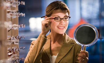 Exam with $225 Toward Prescription Glasses, or $35 for $200 Toward Prescription Glasses at Singer Specs/Sterling Optical