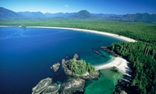 $ 199 for a Roundtrip Flight from Victoria to Tofino from Island Express Air ($ 426.80 Value)