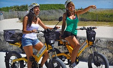 $25 for 90-Minute Electric-Bike Tour of South Beach from Wheels 2 Go Miami ($49 Value)
