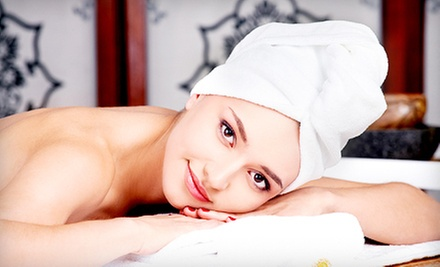Spa Package with Facial, Massage, and Body-Slimming Wrap or Salt Scrub at Younger Images (Up to 65% Off)
