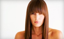 Haircut and Conditioning Treatment with Optional Highlights or Full Color at Studio Fifty Fifty (Up to 61% Off)