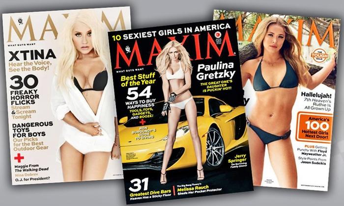 Maxim magazine deals