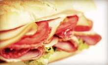 Pizza or Sandwiches for Two or Four at Sundance Sandwich (Up to Half Off)