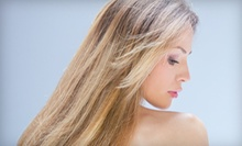 Haircut with Optional Conditioning, Full, or Partial Highlights at Chocolate For Your Body Chicago Spa (Up to 58% Off)