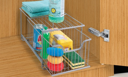 Under-The-Counter Triple-Wire Storage Drawer