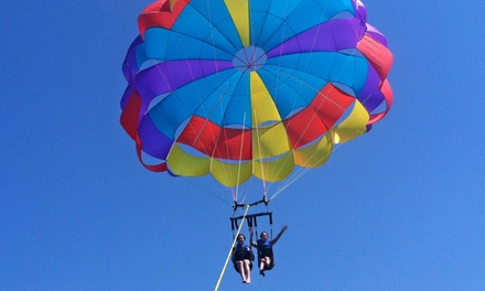 Parasail Ride for Two at Island Style Parasail (Up to 46% Off). Two Options Available.