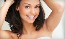 Six Laser Hair-Removal Treatments on a Small or Medium Area, or Both at Glamour Hair Salon (Up to 52% Off)