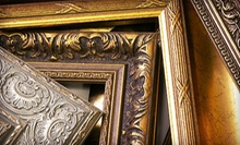 $39 for $100 Toward Custom Framing at Wall Space Gallery and Framing