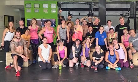 One Month of CrossFit, Drive, and Yoga Classes, or 10 Yoga or Drive Classes at CrossFit 615 (Up to 65% Off)