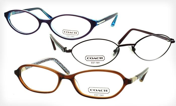 Eyeglass Frame Deals : Womens Coach Eyeglass Frames Deal of the Day Groupon