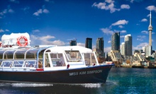 $10 for Boat Tour of Toronto Harbour and Islands from Toronto Harbour Tours (Up to $28.19 Value)