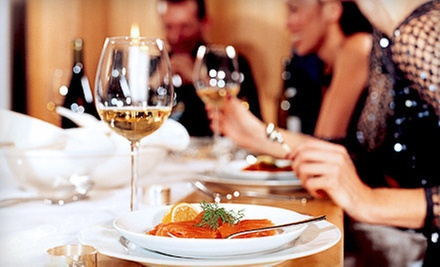 Eight-Course Dinner with Wine Pairings for Two or Four from Occasions Divine (Up to 58% Off)