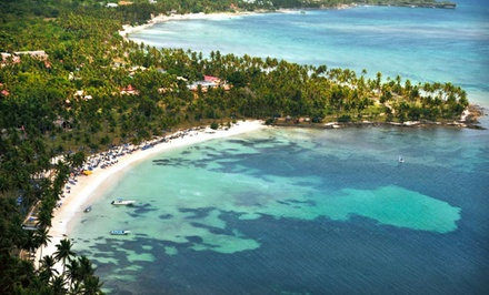 groupon daily deal - 4, 5, or 7 All-Inclusive Nights for Two at Grand Paradise Samana in the Dominican Republic. Includes Taxes and Fees.
