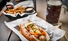 Beer Flights with Appetizers or German Wurst Meal for Two, or Three German Wurst Lunch Specials at Haus (Up to 52% Off)