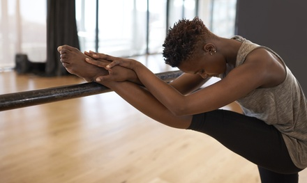 $65 for One Month of Unlimited Barre Fitness Classes at Corner Barre ($175 Value)