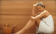 2, 5, or 10 Infrared-Sauna Sessions with One Migun Thermal Massage at Center of Symmetry (Up to 75% Off)