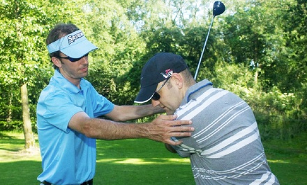 90-Minute Group Golf Clinic or 60-Minute Individual Lesson at Randall's Island Golf Center (Up to 61% Off)