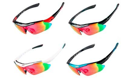 Óculos de sol desportivos disponíveis em várias cores por 34,90€
