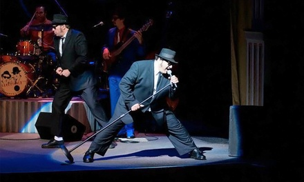 The Official Blues Brothers Revue at Pease Auditorium on Friday, April 10, at 8 p.m. (Up to 36% Off)