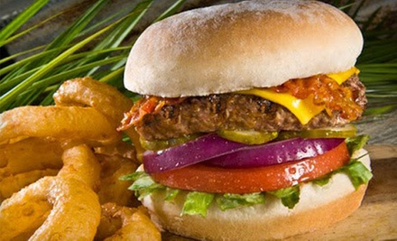 Burgers and Wings for Lunch or Dinner for Two or Four at Hurricane Grill & Wings (Up to 53% Off)