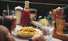$10 for $20 Worth of American Diner Food and Drinks for Two or More at Professors Diner