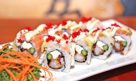 $13 for $24 Worth of Sushi and Japanese Cuisine at Tokyo Bay Japanese Restaurant