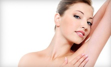 Six Laser Hair-Removal Treatments on an Extrasmall or a Small Area at TVV MediSpa (Up to 60% Off)