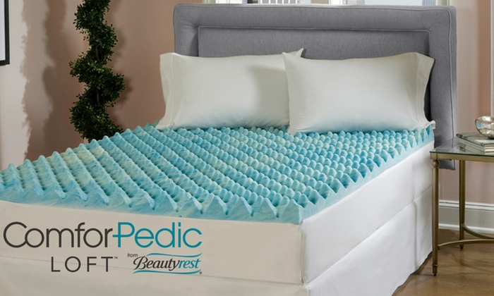 Up To 68 Off Gel Memory Foam Mattress Topper Groupon