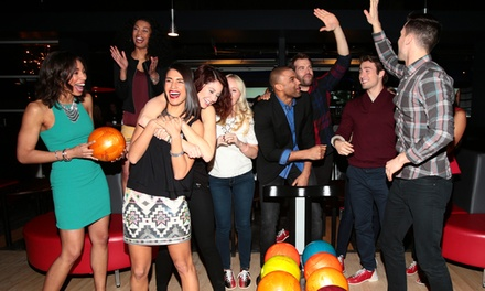 Bowling and Shoe Rentals at Bowlmor (50% Off). Three Options Available.