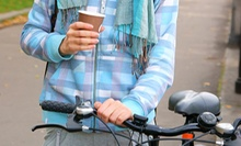 Coffee and Pastries at Broken Spoke Cafe or Bike Tune-Up, Accessories, or Two Flat Repairs at Bikes Plus (Up to 64% Off)