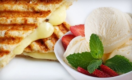 Two Combo Meals or $5 for $10 Worth of Gelato and Bistro Food at Gnam Gnam Gelato Bistro