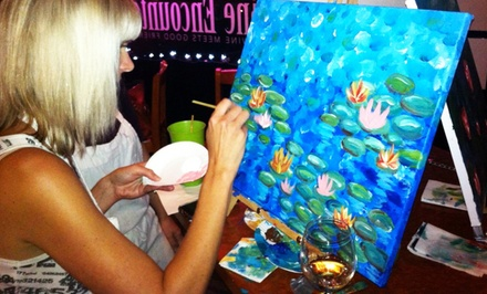 Painting Event for One, Two, or Four from Paint and Palate (Up to 58% Off)