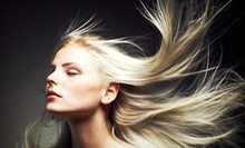 $40 for a Haircut with an Express Keratin Treatment at Salon Zahra ($100 Value)