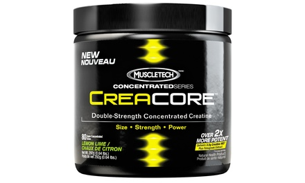 CreaCore Double-Strength Concentrated Creatine Powder in Lemon Lime (80 Servings)