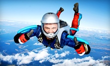 $1,390 for a Static-Line Skydiving Class, License, and 35 Solo Jumps at Southern Minnesota Skydiving ($2,775 Value)