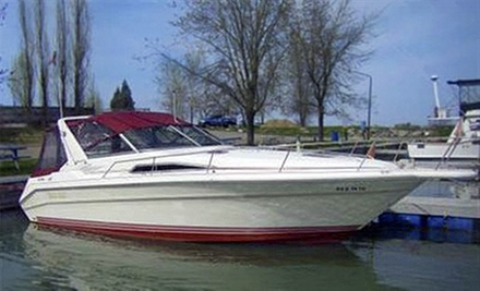 $499 for a Captained Boat Rental from Captain Mike Fink's Marina and AAA Party Cove Boat & PWC Rentals ($1,000 Value)