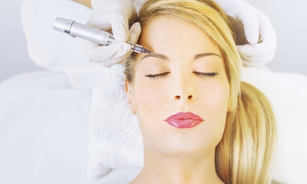 Semi-Permanent Makeup for Eyelids, Eyebrows, or Lips (50% Off)