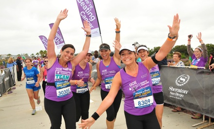 $25 for Team in Training Charity Half Marathon, Marathon, or Triathlon Training ($100 Value)