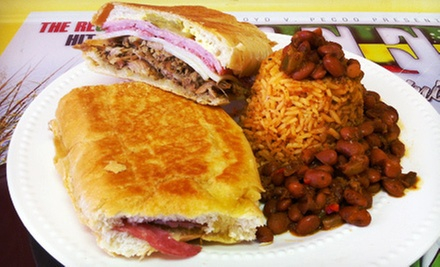 Latin Lunch for Two or Four or $7 for $15 Worth of Latin Breakfast at Tia&#x27;s Authentic Latin Food 