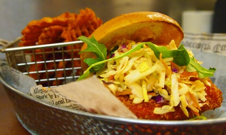 $25 for $40 Worth of Modern American Cuisine for Two at The Rusty Hook Tavern
