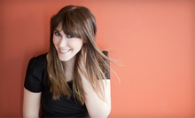 Haircut, Deep-Conditioning Treatment, and Blowout with Optional Highlights or Color at Salon Deja Vu (Up to 56% Off)