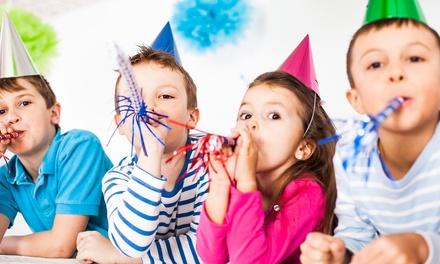 Vem Brincar: festa de aniversário para 10 ou 20 crianças desde 69,90€