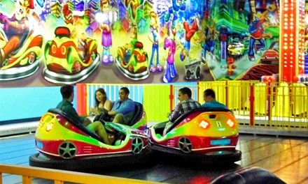 Amusement Rides, Soft Play, and Lazer Runner at The Party Zone USA (Up to 70% Off). Six Options Available.