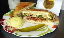 Sandwiches and Ice Cream for Two or Four at Carrie Lyn's Ice Cream Parlor (Up to 58% Off)
