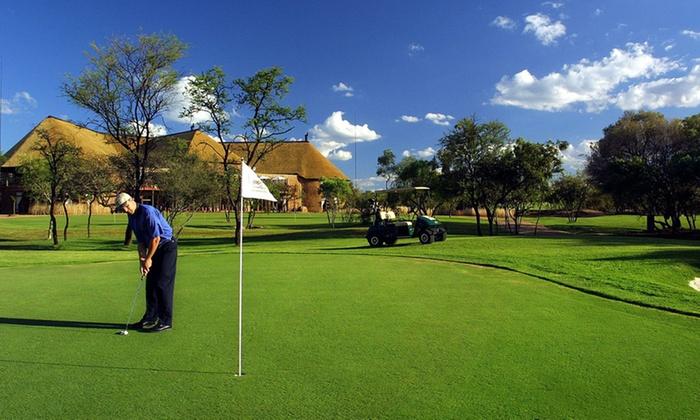 Zebula Golf Course - Zebula Golf Estate and Spa: Golf, Spa Treatments (R780) or Accommodation (R3 360) at Zebula Golf Estate and Spa (Up to 40% Off)